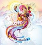 kosmos abstract phoenix